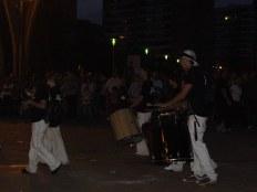 Les batucadas (groupes de percussionistes)