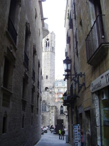 Eglise du quartier Gotico